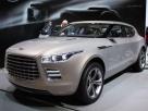 Aston Martin Lagonda попался без камуфляжа
