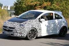 Шпионские фото нового Opel Corsa