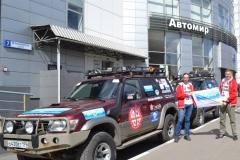 Автомир поддержал автопробег «Дорогами тысячелетий» на автомобилях Nissan Patrol