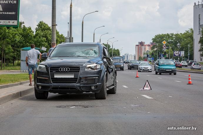 Освободить проезжую часть после аварии будут согласны не все водители