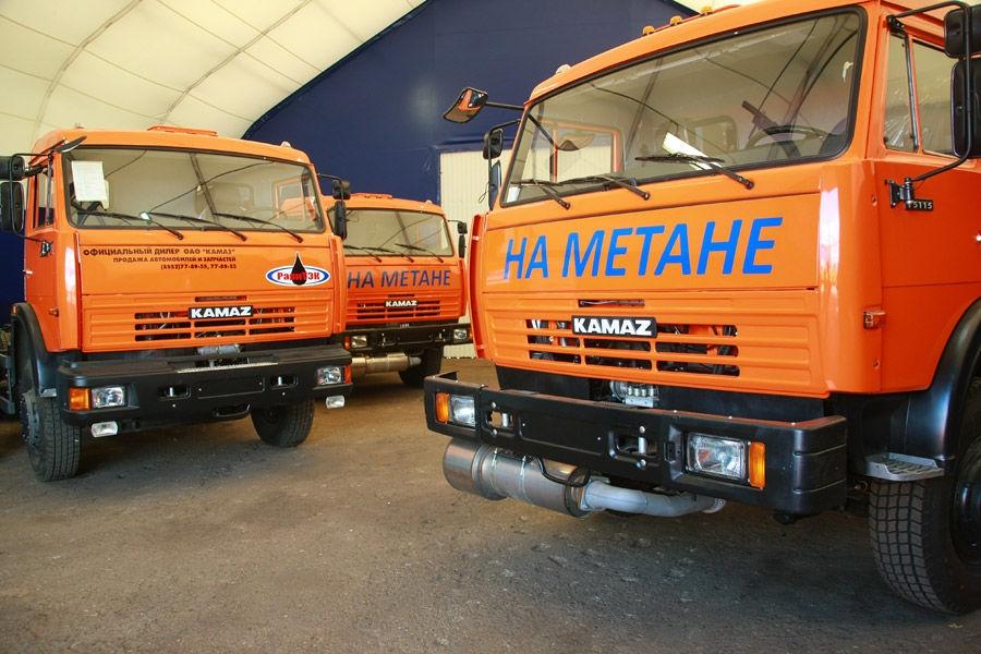 Производителям автомашин на газе правительство окажет помощь
