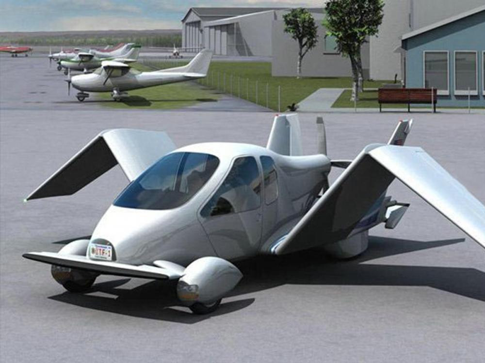 В США спроектировали первый летающий автомобиль