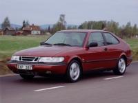 Saab 900 хэтчбек 3 дв., 1993 - 1998